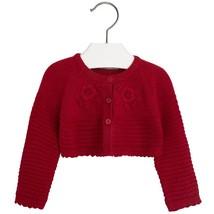 Mayoral Baby Girl 3M-24M Fancy Knit Angora Blend Bolero Cardigan Sweater Shrug
