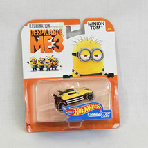 Despicable Me 3 Hot Wheels Character Cars Minion Tom NEW - $7.95