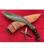 GURKHA GANJAWAL PREMIUM  KHUKURI KHUKRI KUKRI KNIFE 12- INCH FULL TANG - $128.65