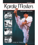 Karate Martial Arts Masters #1 Revised Updated Edition Book Jose Fraguas - $39.95