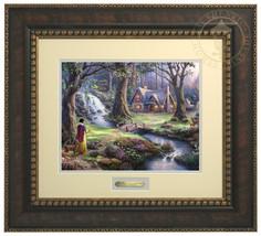 Thomas Kinkade Disney Snow White Discovers the ... - $199.00