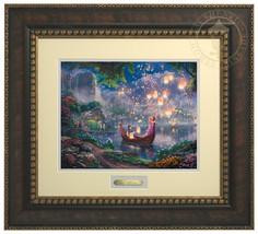 Thomas Kinkade Disney Tangled Prestige Home Collection - $199.00