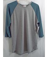 LuLaRoe Women's Elegance Randy Shirt LRG Grey G... - $72.25