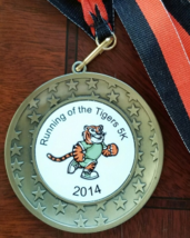 Running of the Tigers 5K 2014 Bronze medal - $6.95