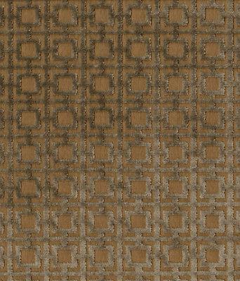 3.25 yds Brentano Upholstery Fabric Quadro Geometric Velvet Miracoli 3600-04 QO