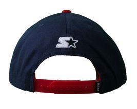 Kr3w krew Skateboarding Navy Blue Red Mark Starter Snapback Baseball Hat Cap NWT image 3