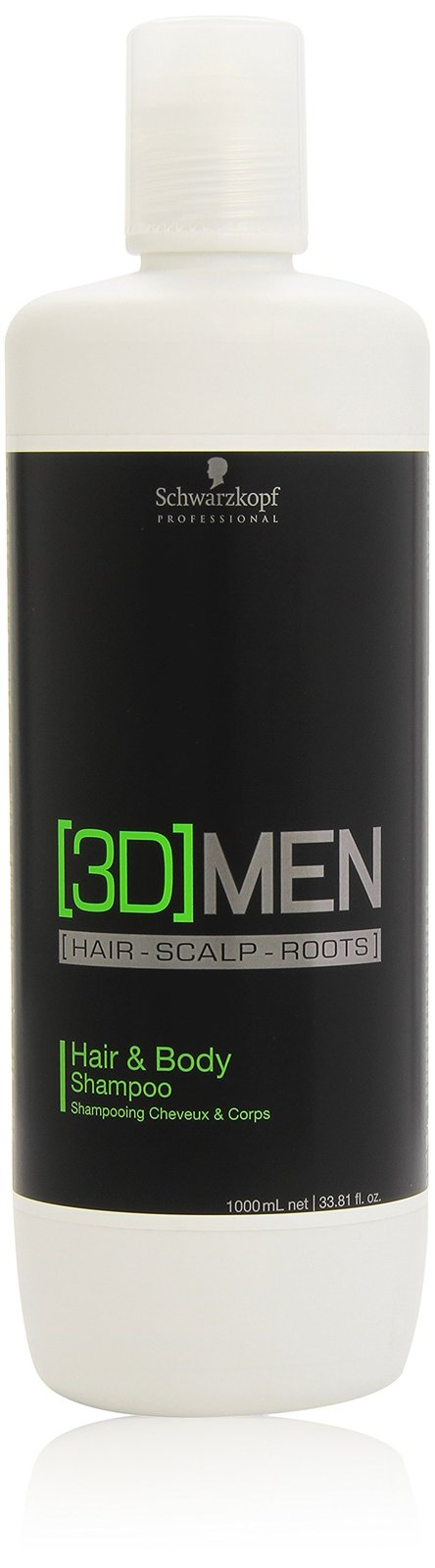 Schwarzkopf [3D]Men Hair & Body Shampoo 1000ml