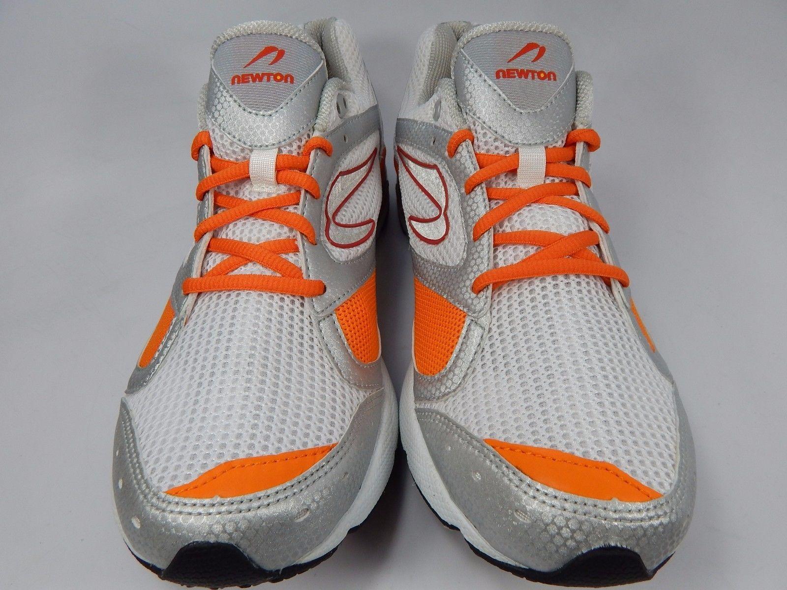 Newton Sir Isaac Neutral Men's Running Shoes Size US 9 M (D) EU 42 White Orange