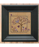 Violet #6 World of Color Snapper Series cross stitch chart Bent Creek  - $6.75