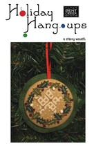 A Starry Wreath Holiday Hang Ups cross stitch kit Bent Creek  - $21.60