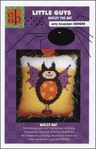 Little Guys: Batley the Bat cross stitch chart Amy Bruecken Designs - $5.40