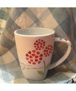 Starbucks I Love You Coffee Mug Cup 2007 Hearts Flowers EUC Valentines Day - $14.99