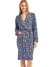 Gap Womens Piping print robe, PARIS PAISLEY BLUE, Limited, size XS/S, NWT - ₨3,490.13 INR