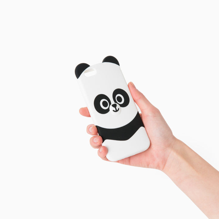 LINE Friends Half Body PANGYO iPhone Cell Silicone Case Phone Cover Mobile Skin