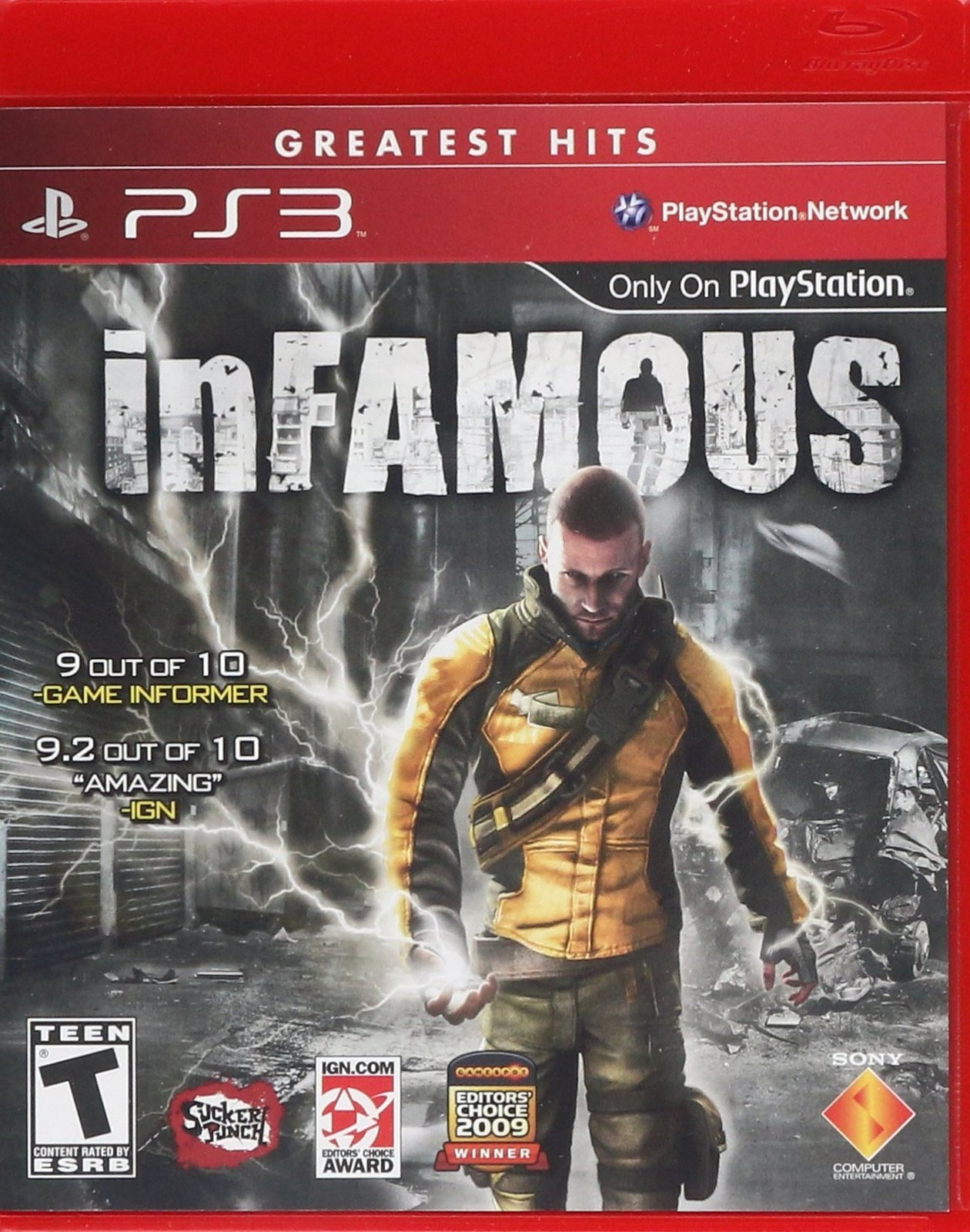 inFAMOUS - Playstation 3 [PlayStation 3]