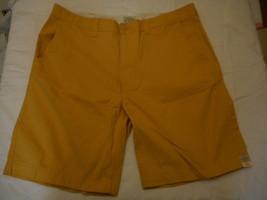 Men's St. John's Bay Legacy Flat Front Shorts Luminous Apricot  Size 34 ... - $22.76