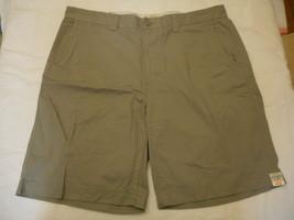 Men's St. John's Bay Legacy Flat Front Shorts Wild Dove  Size 36 NEW  - $24.74