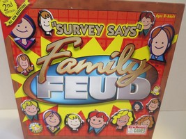 Survey Says Family Feud Board Game 2002 Endless Games Complete - $15.76
