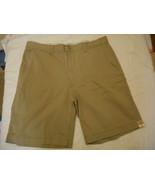 Men's St. John's Bay Legacy Flat Front Shorts British Khaki  Size 40 NEW  - $24.74