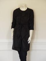 Vera Wang Lavender Label Black Coat - Us 6 - Uk 10 - $84.14