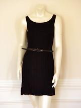 ALICE + OLIVIA BLACK PLEATED DRESS - US SMALL - $169.29