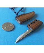 1  Mini Knife Philippine bolo  pendant necklace miniature blade tribal New - $13.61