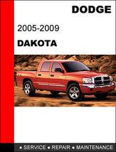 DODGE DAKOTA 2005 - 2009 FACTORY SERVICE REPAIR WORKSHOP SHOP MANUAL image 1