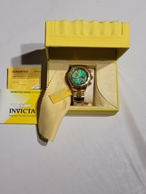Mens Invicta 6703 Steel Ocean Ghost Power Reserve Alarm Rotating Bezel Day read - $197.99