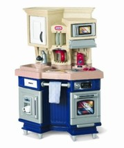 Little Tikes Super Chef Kitchen Christmas Gift Cooking Play Center Pres... - $121.50