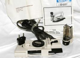Vintage 1970's OSROW Mini Portable Travel Iron COMPLETE - $17.42