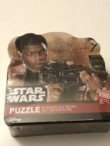 """Star Wars The Force Awakens 1000 Piece Puzzle Collectors 18"""" X 24"""" New I... - $9.41"""