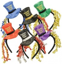 Happy New Year Headbands (asstd Colors) Party A... - $18.37