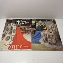 2 Afghan Pattern Books Leisure Arts - $9.74