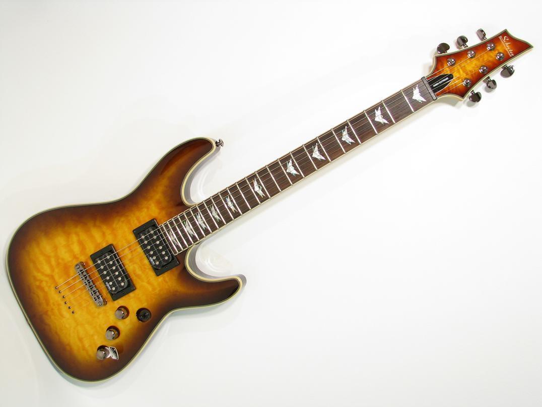 schecter guitar research omen extreme 6 electric guitar vintage sunburst electric. Black Bedroom Furniture Sets. Home Design Ideas