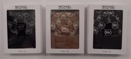 Genuine Michael Kors Brown Black Tan Camel Gray 2 Piece Scarf & Hat Set Gift Box - $40.99