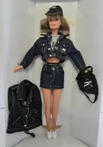 Calvin Klein Jeans Barbie bloomingdale's Limited Edition Blue Jean Jacke... - $21.66