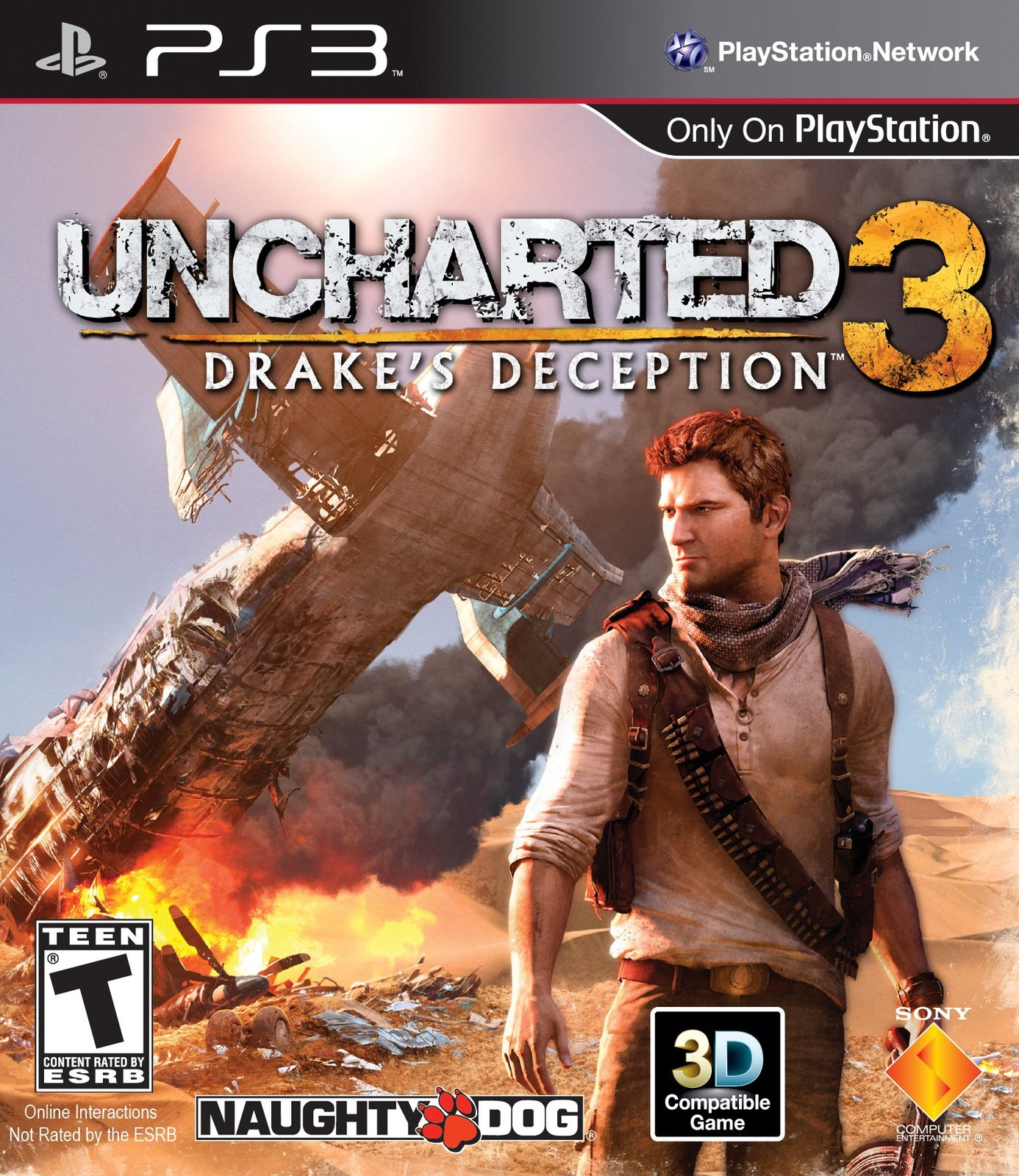 Uncharted 3: Drake's Deception - Playstation 3 [PlayStation 3]