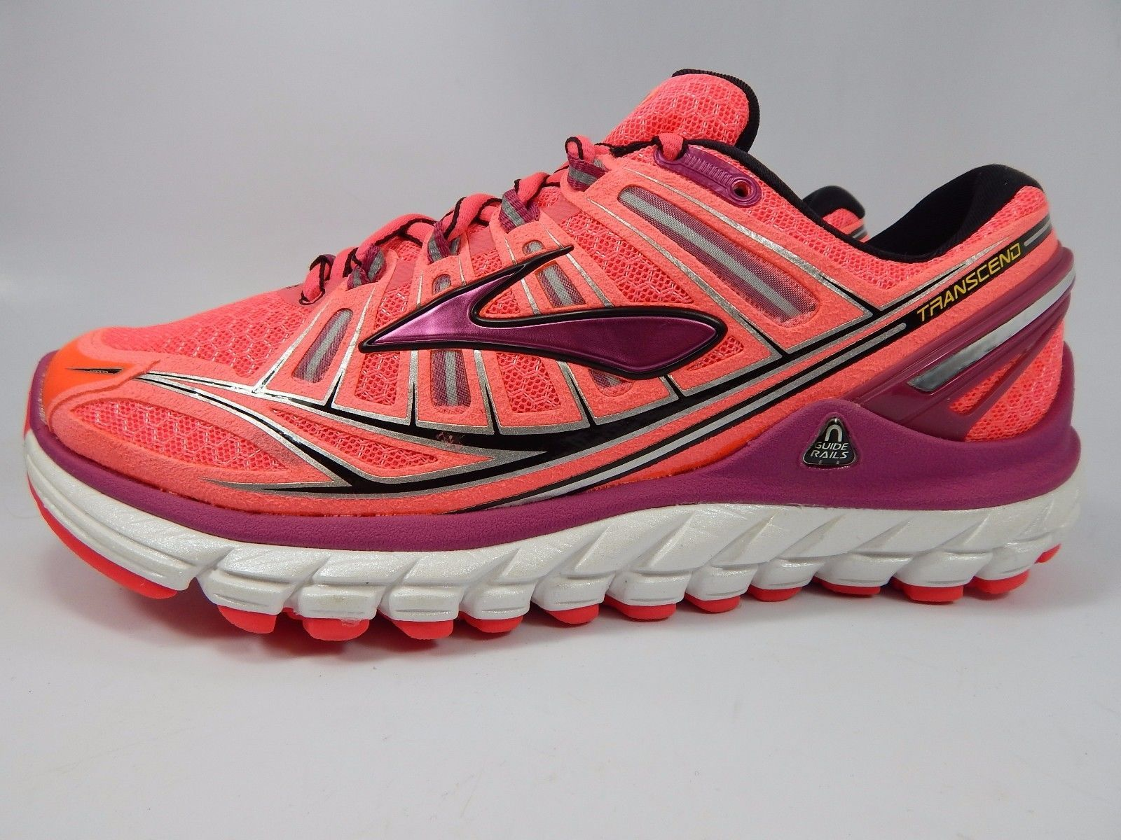 Brooks Transcend Women's Running Shoes Size US 6 M (B) EU 36.5 Pink 1201501B878