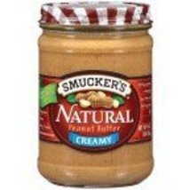 Smuckers Natural Peanut Butter 16 Oz (Pack of 4... - $35.52