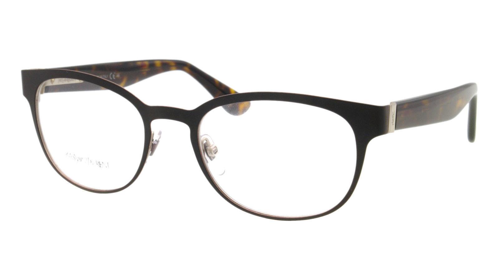 NEW Yves Saint Laurent Eyeglasses YSL 2356 Havana 7H5 ...