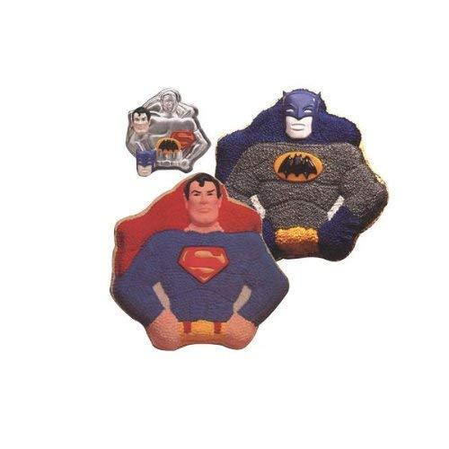 Wilton Super Heroes Batman / Superman Cake Pan (502-1212, 1977) DC Comics - $48.02