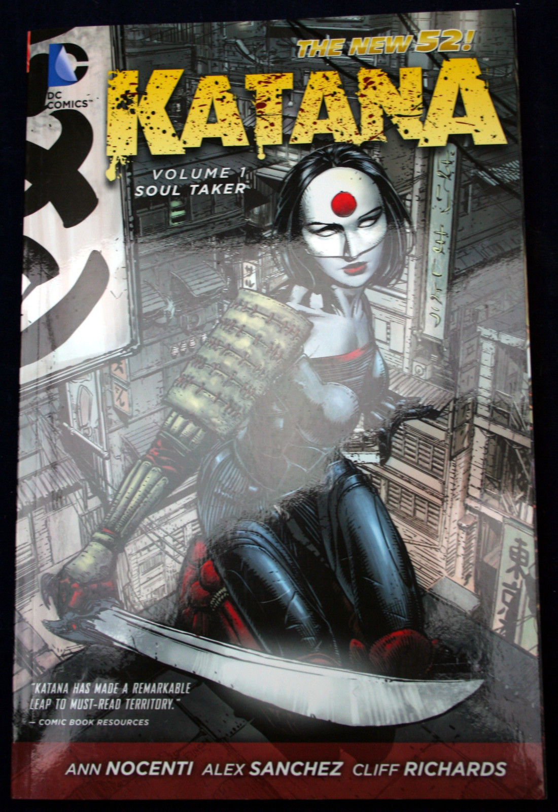 Primary image for KATANA #1 SOULTAKER DC Justice League Nocenti Sanchez Richards Sword and Sorcery