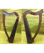 CP BRAND NEW 19 STRINGS HARP WITH LEVERS ROSEWOOD HAND CARVED FREE BAG &... - $341.55