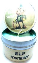 Elf Sweat (Candy Cane & Vanilla) 4oz All Natural Soy Candle Tin - Fun Ch... - $5.99
