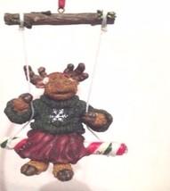 "Boyds Moose Troop Ornament ""Matilda Mooselswing"" #25007- NIB - Retired - $18.99"
