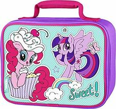 My Little Pony Pinkie Pie Twilight Sparkle Hasbro Thermos Lunch Tote Box Bag - $7.31