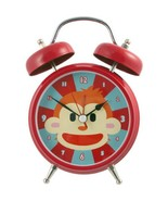 Monkey Animal Sounds Alarm Clock Red Blue in Gift Box 7 inches Tall - $28.70
