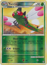 Yanmega 54/102 Reverse Holo Uncommon HS Triumphant Pokemon Card - $1.09