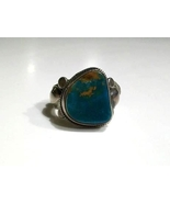 Pilot Mountain Turquoise & Sterling Ring, Handm... - $290.00