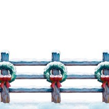 Holiday Fence Border Party Accessory 1 count 20 inches x 30 ft - €10,26 EUR